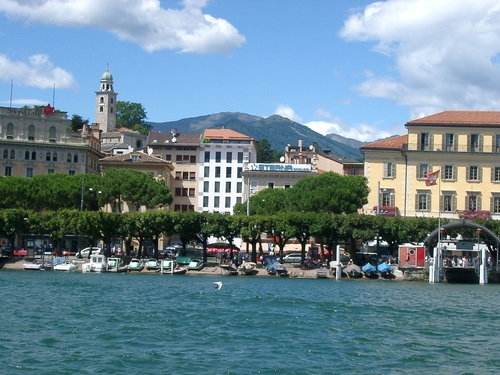 Lugano vanaf het meer