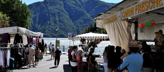 markt in Porlezza